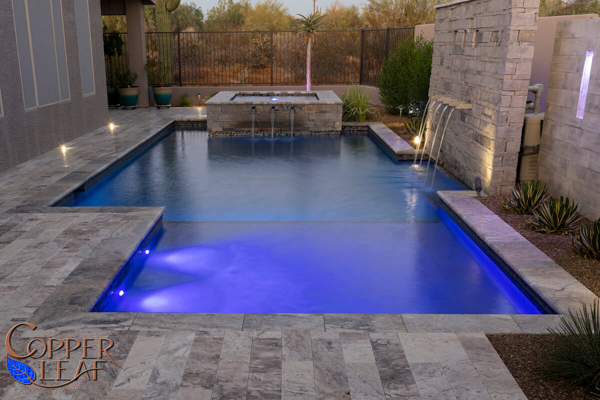 copper in pool water