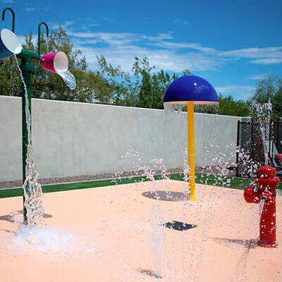 Splash Pad Design & Construction   Copper Leaf Pools