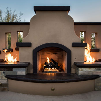 Fireplace with Fire Pits