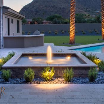 Luxury Home Fountain