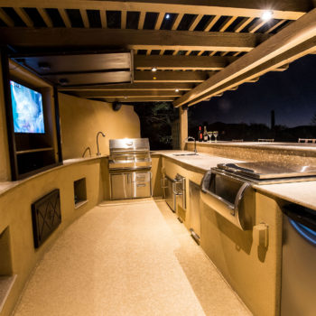 Bar, Barbecue, and outdoor TV