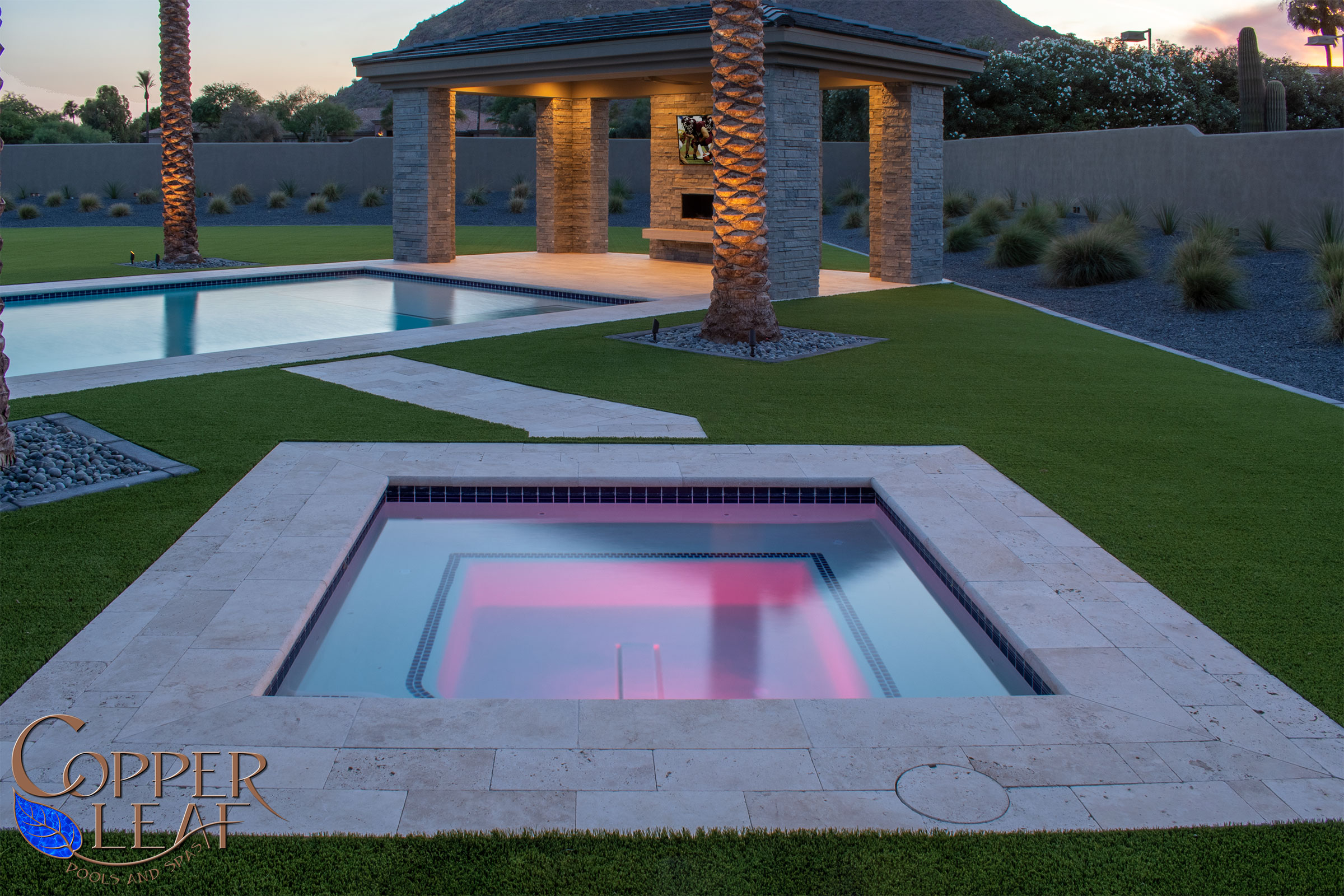 Luxury spa in Paradise Valley